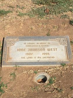 Ione Johnson West