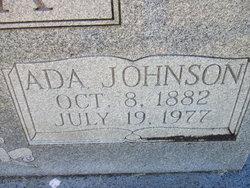 Ada <I>Johnson</I> Condra