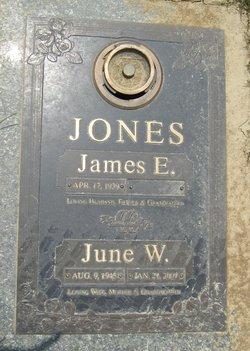 June W <I>Westaver</I> Jones