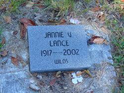 Jannie <I>Vanderhorst</I> Lance
