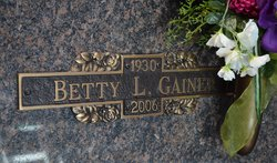 Betty Lucille <I>Channell</I> Gainer