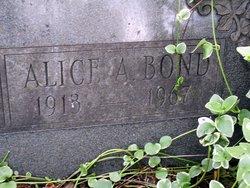Alice A. Bond