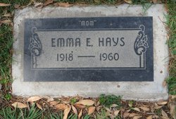 Emma E Hays
