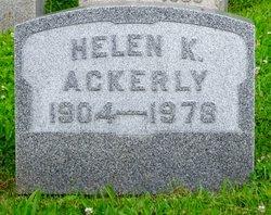 Helen <I>Keller</I> Ackerly