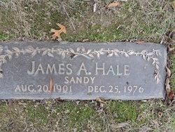 """James A """"Sandy"""" Hale"""