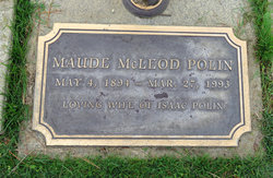 Maude Leone <I>McLeod</I> Polin