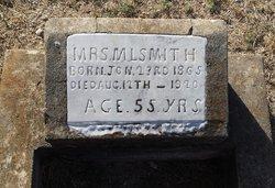 Mrs Mary Louisa <I>Brooks</I> Smith
