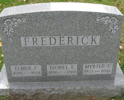 Isobel E Frederick