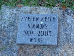 Evelyn <I>Keith</I> Simmons