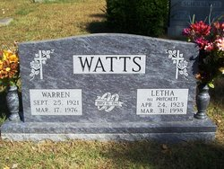 Warren W. Watts