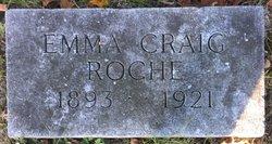 Emma <I>Craig</I> Roche