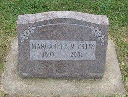 Margarete M Fritz