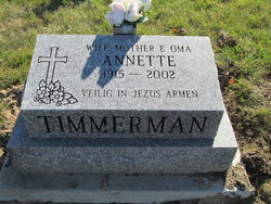 Annette Timmerman