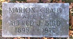 Marion <I>Craig</I> Bird
