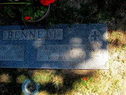 Marie W. <I>Wuenschel</I> Bennett