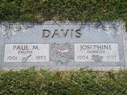 Josephine Margaret <I>Dobscha</I> Davis