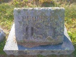 Sadie Mildred <I>Tenney</I> Humphrey