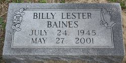Billy Lester Baines