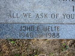 "John E ""Jack"" Welte"