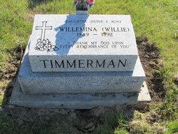"""Willemina """"Willie"""" Timmerman"""