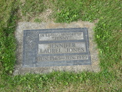 """Jennifer Laurel """"Jenny"""" Jones"""