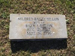 Mildred <I>Bailey</I> Dillon