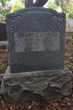 Mildred Eleanor <I>Dallinger</I> Burnham