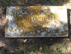 Kathryn H. Lee