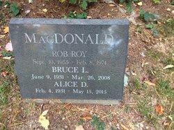 Alice <I>Dewing</I> MacDonald