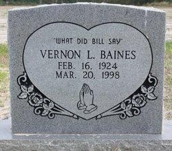 Vernon Lester Baines
