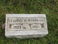 Jeanne M Westrick
