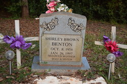 Shirley <I>Brown</I> Benton