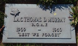 SRA Thomas Douglas Murray