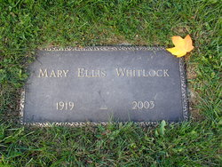 Mary <I>Ellis</I> Whitlock