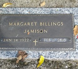 Margaret Billings Jamison