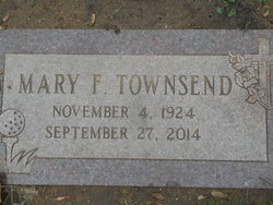 Mary F Townsend