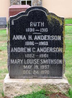 "Anna Helen ""Annie"" <I>Johnson</I> Anderson"