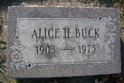 Alice Hannah <I>Negly</I> Buck