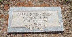 Carrie D. Winningham