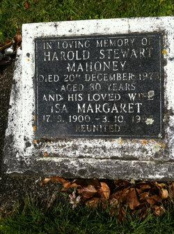 Harold Stewart Mahoney