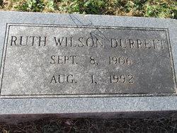 Ruth <I>Wilson</I> Durrett