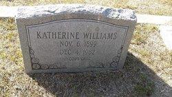 Katherine <I>Hegans</I> Williams