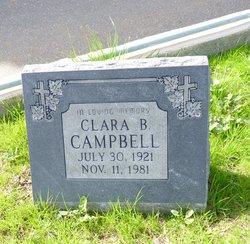 Clara Belle <I>Cramer</I> Campbell