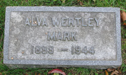 Alva <I>Wertley</I> Mark