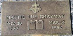 Mattie Lue Chapman