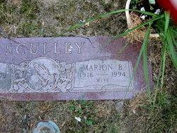 Marion B Sculley