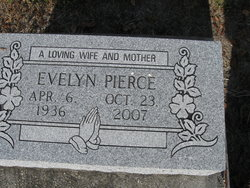"Evelyn ""Bit"" <I>McWilliams</I> Pierce"