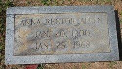 Anna Dorothy <I>Rector</I> Allen