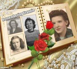 "Frances ""Frannie"" <I>Welty</I> Galloway"