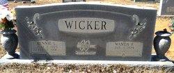 Bennie L Wicker